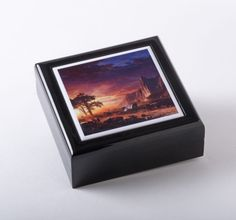 Small Box featuring Immigrants Crossing the Plains by Albert Bierstadt