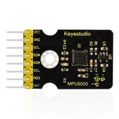 MPU6050 Gyroscope and Accelerometer Module for Arduino