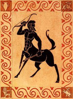 A centaur , or occasionally hippocentaur, is a mythological creature from . by History Art Ancient Greek Art, Ancient Greece, Ancient History, Art History, Greece Art, Greek Symbol, Greek Warrior, Greek And Roman Mythology, Roman Art