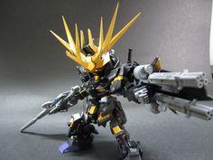 GUNDAM GUY: SD Unicorn Gundam 02 Banshee - Custom Build