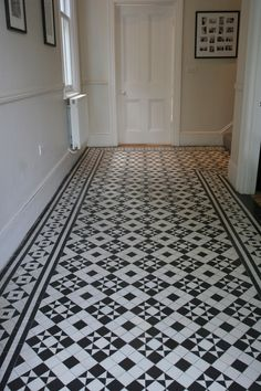 victorian black and white mosaic tile path battersea York stone rope     Harvey   Jefferson Mosaics and Mosaics By Post build and supply black