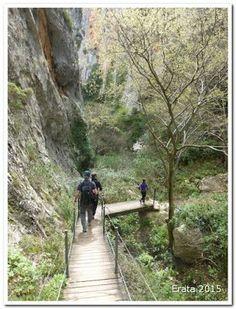 Excursiones para peques: Ruta de las Pasarelas del río Vero (Alquezar) Spain Travel, The Good Place, Portugal, Wanderlust, Country Roads, Train, Adventure, Nice, Awesome