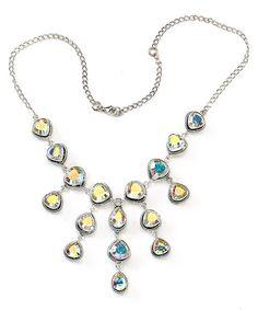 Look what I found on #zulily! Blue & Green Aurora Quartz Statement Necklace #zulilyfinds