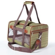 http://www.amazon.com/exec/obidos/ASIN/B0002YHWBY/pinsite-20 Sherpa Original Deluxe Classic Pet Dog Cat Carrier Bag Medium Olive Green Best Price Free Shipping !!! OnLy 55$