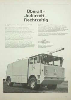 Oshkosh Airport Crash Truck Advert