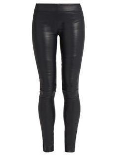 Moto stretch-leather leggings | The Row | MATCHESFASHION.COM UK