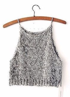 Make the Rebel Cami, a sassy but sweet drawstring halter top crochet pattern from TL Yarn Crafts. Challenge your crochet stills with unique shaping and texture Crochet Clothes, Diy Clothes, Mode Crochet, Summer Outfits, Cute Outfits, Diy Kleidung, Diy Vetement, Mode Inspiration, Mode Style