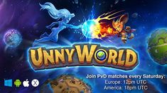 Don't miss games against developers and online stream on Twitch, this Saturday! UnnyWorld is the only game where you play with and against developers and get prizes for that   America Twitch.tv  Europe Twitch.tv  We can't wait to see you tomorrow!  #unnyworld #games #matches #arenas #moba #online #playwithfriends #iosgames #androidgames #pc #steam #dlc #gameroom #madewithunity #twitch #stream