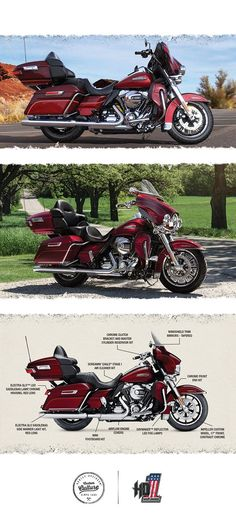 Unmatched comfort, performance, and style to take you as far as you want to go. | 2016 Harley-Davidson Ultra Classic