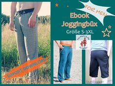 Nähanleitungen Mode - Ebook Joggingbüx for men - ein Designerstück von For-Mami-and-Me-by-LuMaLi bei DaWanda