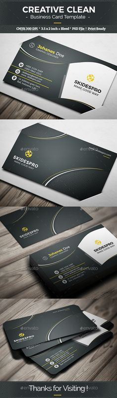 Buy Creative Clean by ArnovNick on GraphicRiver. Featured 2 PSD File included Full layered 300 DPI RGB Color Mode Easy edit able inch card. Cleaning Business Cards, Unique Business Cards, Business Card Design, Letterpress Business Cards, Business Logo, Social Media Banner, Creative Cards, Service Design, Print Design