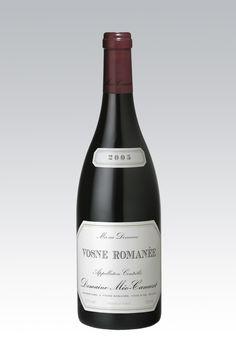 Vosne Romanèe 2005, de Mèo-Camuzet. Un delicadísimo Pinot Noir de la Borgoña. http://www.grandcru.com.ar/Vinos/p/669/Vosne-Romanee.aspx