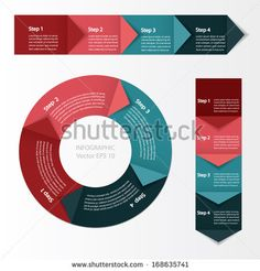 Process chart module. Vector illustration. by Cute little things, via Shutterstock