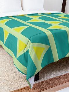 'Retro Design' Comforter by Shane Simpson College Dorm Rooms, College Dorm Bedding, Make Your Bed, Retro Design, Square Quilt, Twin Xl, Quilt Patterns, Comforters, Blanket
