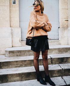 sweater + skirt @dcbarroso