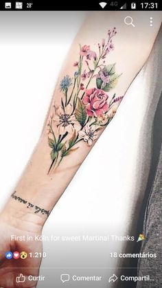 Birth Flower Tattoos, Rose Tattoos, Leg Tattoos, Body Art Tattoos, Small Tattoos, Sleeve Tattoos, Tatoos, Piercing Tattoo, Piercings