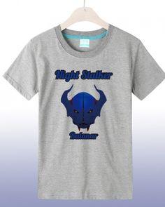 White Dota 2 Night Stalker printed tshirt short sleeve for men- Dota 2 T Shirt, Dota2 Heroes, Defense Of The Ancients, Mens Sleeve, Plus Size T Shirts, Summer Wear, Video Game, Printed, Night