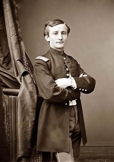 """Union Lt. John Clem in 1867. Four years prior, when he was a 12 year old at the Battle of Chickamauga, he rode an artillery caisson to the front and wielded a musket trimmed to his size. In the course of a Union retreat, he shot a Confederate colonel who had demanded his surrender. After the battle, the """"Drummer Boy of Chickamauga"""" was promoted to sergeant, the youngest soldier ever to be a non-commissioned officer in the United States Army. As a 12 year old Sgt, he had already seen combat !"""