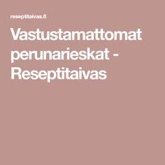 Vastustamattomat perunarieskat - Reseptitaivas