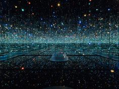 Yayoi Kusama, Infinity Mirrored Room - The Souls of Millions of Light Years Away, 2013