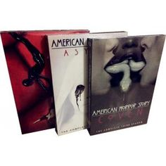 American  Horror Story seasons 1-3 DVD Box set, View horror drama series and think how do survive in the same horror circumstances. Huge horror drama series DVD box set resource update online for fans who can't watch on time of series first airing.