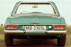 50 Jahre Mercedes 230 SL: Pagode der Lust [Seite 8] - Auto - derStandard.at › AutoMobil