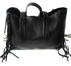 Valentino C-rockee Black Tote Bag $2,570
