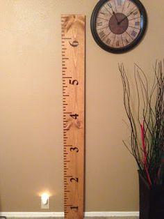 Wilker Do's: DIY Growth Chart Ruler #TutorialTuesday