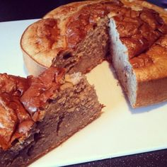 Ripped Recipes - Protein Packed Cake - And another easy PROTEINPACKED cake, which I will be using for a post workout snack this week. It is moist and this one is quite plain with a simple vanilla-cinnamon taste which is good, but will definitely experiment with various editions of this!