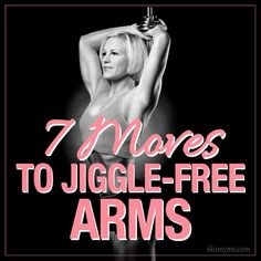 No more jiggly arms! Wave bye-bye to the flab and tone up those triceps! with these to Jiggle-Free Arms. No more jiggly arms! Wave bye-bye to the flab and tone up those triceps! with these to Jiggle-Free Arms. Fitness Diet, Fitness Motivation, Health Fitness, Tone It Up, Thing 1, Yoga, I Work Out, Workout Challenge, Sport
