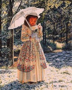 Melinda Byers.  Girl With Parasol
