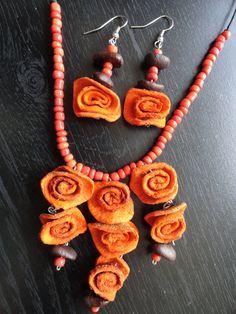 Coffee beans beads // cascara de naranja y granos de cafe que combinacion y que aroma....