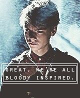 Oh Newt.. everyone should read the maze runner trilogy QUICK!!! Before the movie is released!!