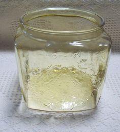 Vintage Federal MADRID Cookie Jar Without Lid Amber #Federal