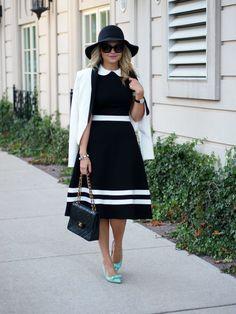 Suburban Faux-Pas: Collared Dress