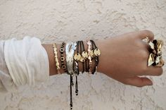 Bracelets...Silver and Gold