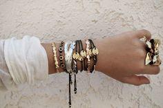 Bracelets...Silver and Gold