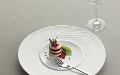 #Compliments professional porcelain provide the perfect showcase for the dishes for which creative cuisine is known