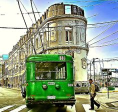 Valparaiso en un Trolley Street Art, Travel Box, Trolley, Travel Inspiration, Places To Visit, Photos, Country, World, City