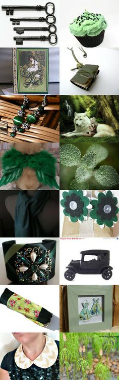 Easy Treasury Making  Make One Be In 16  by Angelica Franssen on Etsy--Pinned with TreasuryPin.com #etsy #shopping #green #photography #homedecor