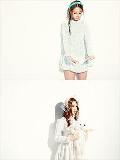 Cute YG's little princess Lee Hi <3