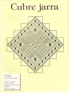 Labores de Bolillos 11 Bobbin Lace Patterns, Needle Lace, Lace Making, Creations, How To Make, Crafts, Ideas, Farmhouse Rugs, Bobbin Lace