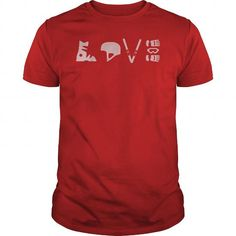 Awesome Tee LIMITED EDITION- LOVE WINTER SKIING T shirts