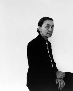 Title: Georgia O'Keeffe, NYC Artist: Arnold Newman (1918-2006, American) Year: 1944