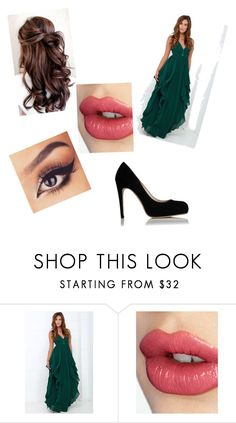 """""""Untitled #268"""" by sodapop-999 ❤ liked on Polyvore featuring Lulu*s, Charlotte Tilbury and L.K.Bennett"""