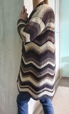 Pullover, Sweaters, Handmade, Fashion, Moda, Hand Made, Fashion Styles, Sweater, Fashion Illustrations