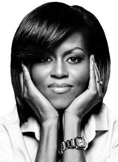 Michelle Obama Una mujer a la vanguardia... Considerada de las mas influyentes del mundo...