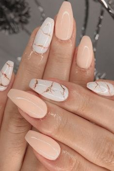 Acrylic Nails Coffin Short, Simple Acrylic Nails, Best Acrylic Nails, Simple Nails, Coffin Nails, Marble Acrylic Nails, Pointy Nails, Acrylic Nails Maroon, How To Marble Nails