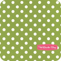 Annie's Farm Stand Green Big Dot by Holly Holderman for Lakehouse Dry Goods