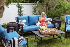Genoa Patio Sofa with Cushion